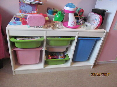 Ikea Trofast Kids Storage Combination with boxes