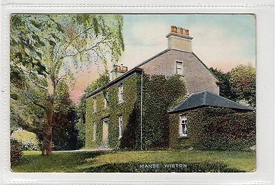 MANSE, WISTON: Lanarkshire postcard (C29038)