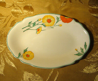 """Vintage Johnson Brothers """"victorian"""" Floral Serving Dish Made In England"""