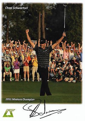 CHARL SCHWARTZEL - PGA Golfer - Hand-Signed Autographed 6X8 Color Photo - w/COA