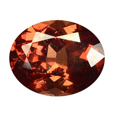 0.96 ct HUGE UNIQUE RARE NATURAL FROM EARTH MINED PINKISH RED MALAYA GARNET