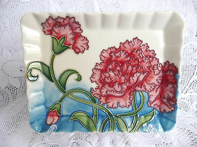 Old Tupton Ware Pin Tray Carnations Pattern TW8000