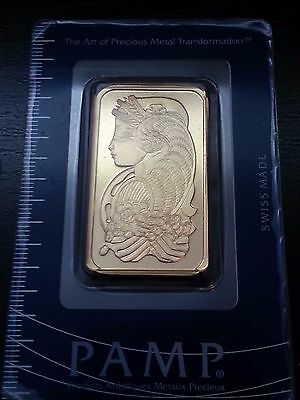 1 Troy Ounce Gold PAMP Suisse