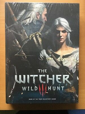 The Witcher 3 Wild Hunt Game Of the Year Collector's Guide NEW