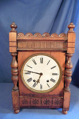 Antique Black Forest Camerer & Kuss W&H Winterhalder & Hoffmeier Bracket Clock