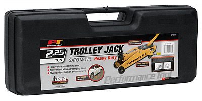 Performance Tool W1611 2.25 Ton Trolley Jack with Case