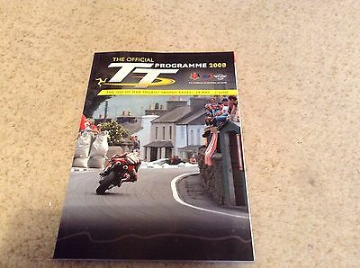 Isle of man TT official 2008 programme ideal collector item