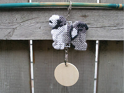 Tibetan Terrier #1 dog crate tag or hang anywhere art decor pet themed ornament