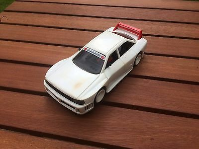 Vintage 4Wd Audi 90 Gto Scx Slot Car Complete, Fully Working With Lights