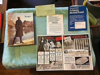 VINTAGE SEARS 1970 FALL WINTER CATALOG Hippie Fashion Clothes Tools Children's