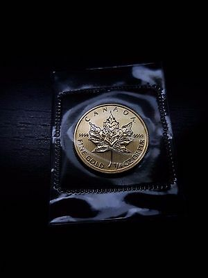 1/4 Oz Gold - Canadian Maple Leaf