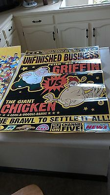 Family Guy: Unfinished Business -  & Simpsons character (24x36 ) posters
