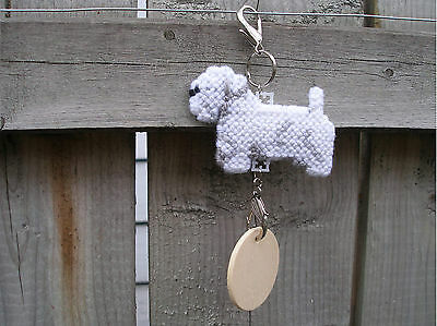 Sealyham Terrier #4 dog crate tag or hang anywhere art decor pet themed ornament