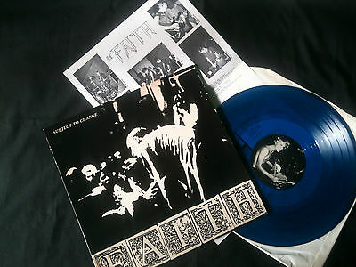 "Faith - Subject To Change  12"" EP USA 1983  VG+/VG+  # Punk"