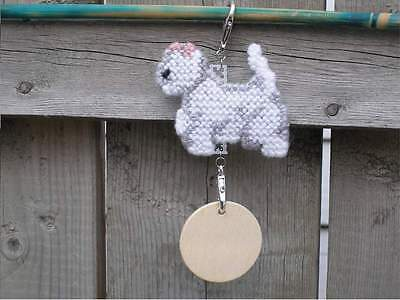 West Highland White Terrier dog crate tag or any day ornament pet themed, Westie