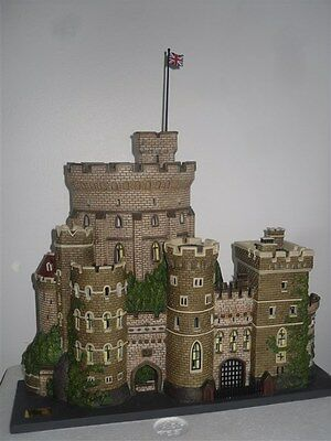 Department56 DP56 Magnifique chateau de WINDSOR CASTLE village de noel
