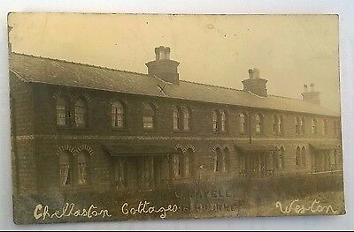 Weston on Trent, Rare Chellaston Cottages, Weston by W Mayell