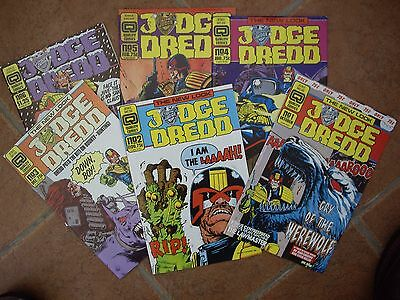 Eleven New Judge Dredd (Quality Comics)(1987-7)