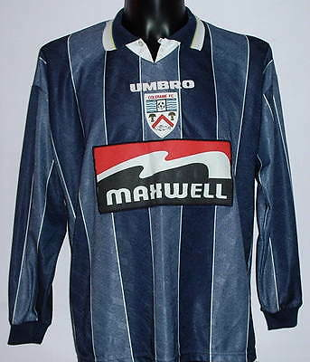 RARE Coleraine #11 Northern Ireland match worn shirt jersey maglia indossata