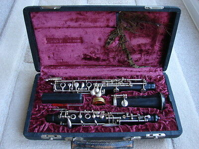 Vintage TW Howarth & Co Oboe - Numbered 1946