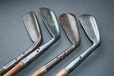 Antique Vintage Hickory Golf club memorabilia 4 Maxwell clubs