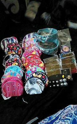 large mixed lot of purses jewellery sets earrings and hair accessories