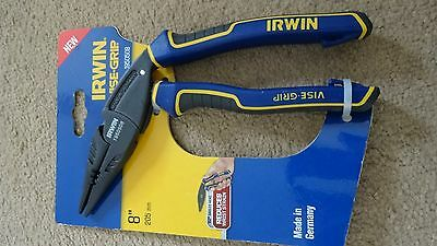 IRWIN 1950508 Vise-Grip ErgoMulti Long Nose Pliers 200mm (8in) - NEW