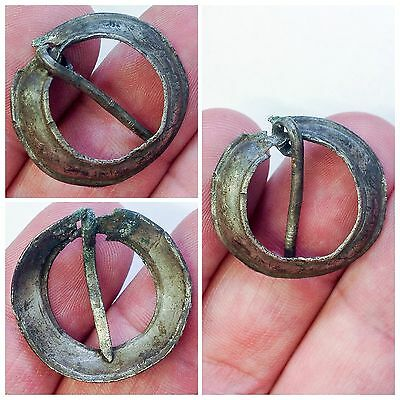 Rare ancient Viking Silver Ring Brooch 9-10th century AD