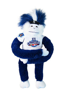 Baseball World Series Champions 2009 Official NY Yankees Soft Toy (Monkey)
