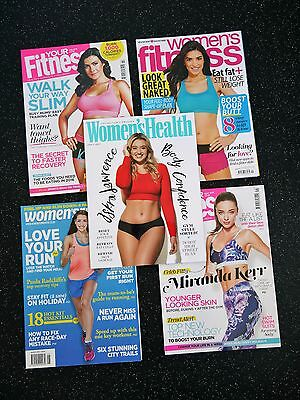 #1 5X Women's Health Fitness Magazines In As New Condition