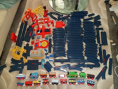 TOMY thomas and friends Tomica Train set Huge Bundle Trackmaster school 1