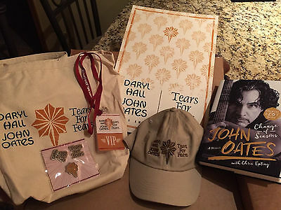 Daryl Hall & John Oates Tears for Fears 2017 VIP Tour Package Limited Edition