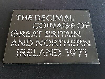 Coinage Of Great Britain & Northern Ireland, 1971 6 Coin Proof Set, Sealed