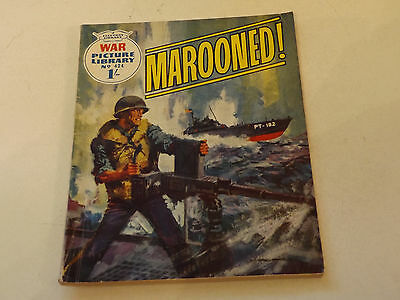 WAR PICTURE LIBRARY NO 424!,dated 1968!,V GOOD for age,great 49!YEAR OLD issue.