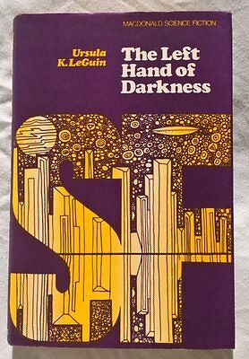 The Left Hand of Darkness, Ursula Le Guin, Macdonald 1st first UK edition 1969