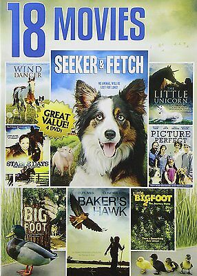 18 Movie Family Collection, Vol. 2 (DVD, 2014, 4-Disc Set) *NEW* *FREE Shipping*