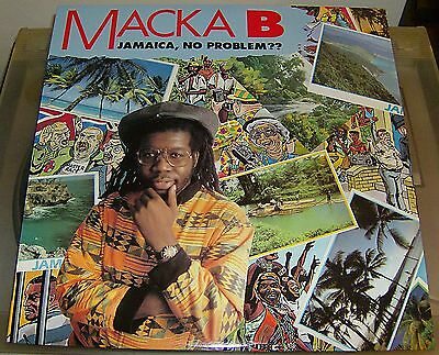 Reggae VINYL LP - Macka B -  Jamaica, No Problem?   Very Good Condition