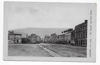 Bantry Square & New Street, Used 1910, Rp.