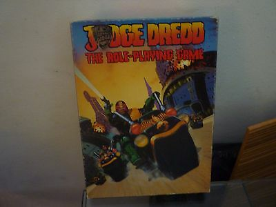 Vintage Judge Dredd - The Role Playing Game By The Games Workshop