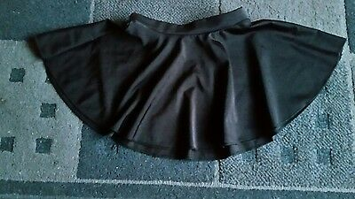 girls black dance Roch Valley circular skirt small
