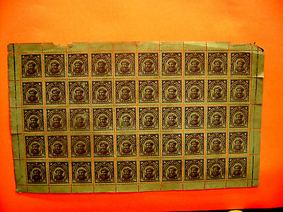 PHILIPPINES US STAMP ESSAY PROOF OF S/C # 292  FULL SHEET OF 50 Stamps