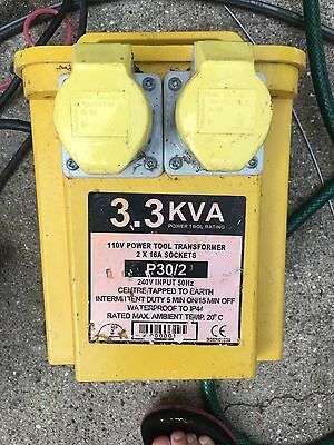 110v transformer with two sockets