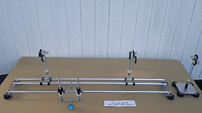 Aluminum fishing rod wrapper 3ft base w/ stand alone support & Rod dryer 110v US