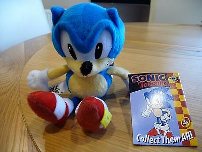 "Sonic the Hedgehog Plush/Soft Toy 8"" Impact - NEW"