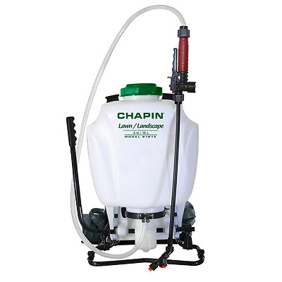 Chapin 61813 Deluxe Professional Poly Backpack Sprayer, 4-Gallon