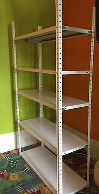 5 Tier Heavy-Duty Industrial Retail Racking Storage Garage Shelve - 14 available