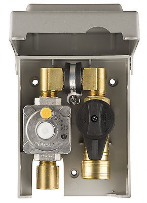 Burnaby Manufacturing Ltd G0101-2#-5W-50 Gas Plug Gas Outlet Box with 1/2-Inch I