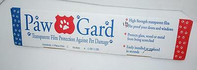 Paw-Gard Transparent Protective Film Protect Surfaces from Pet Scratches 17X20""