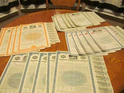 30   Bonds /   Stock Certificates; 6 Different Types