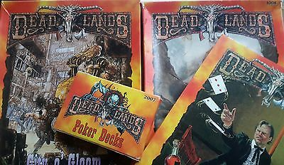 DEAD LANDS role playing collection CITY OF GLOOM GREAT MAZE POKER CARDS HEXES